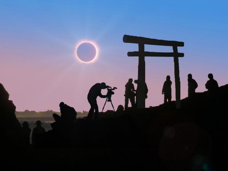 eclipse11 800x600 Самые потрясающие фото солнечного затмения