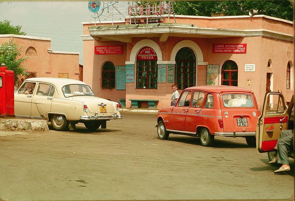 gasstation07 Бензоколонки в СССР   история в фотографиях