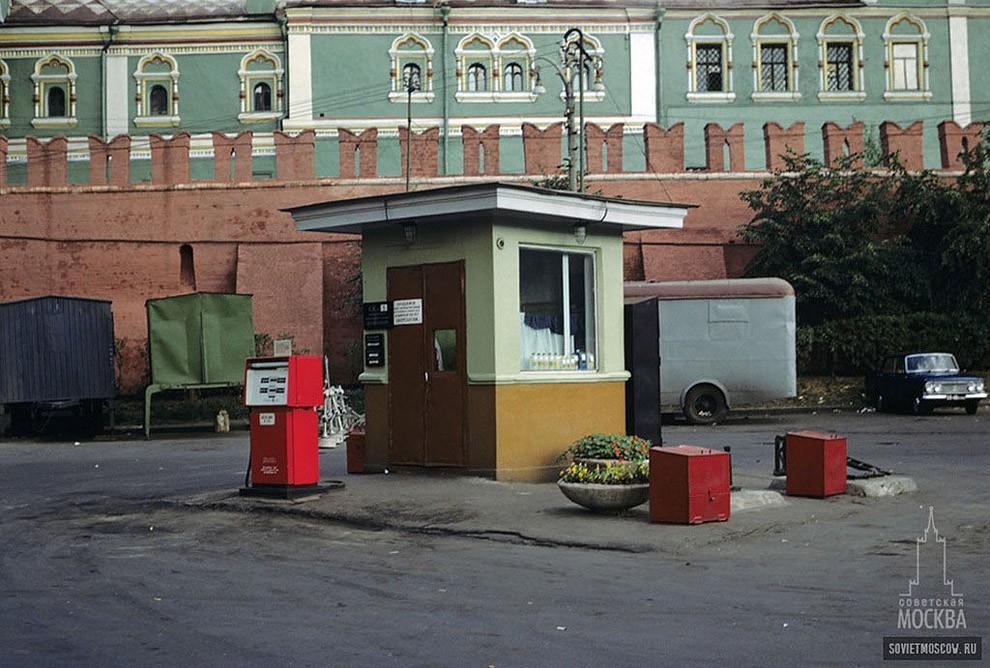 gasstation09 Бензоколонки в СССР   история в фотографиях