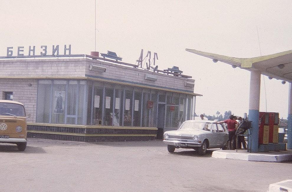 gasstation11 Бензоколонки в СССР   история в фотографиях