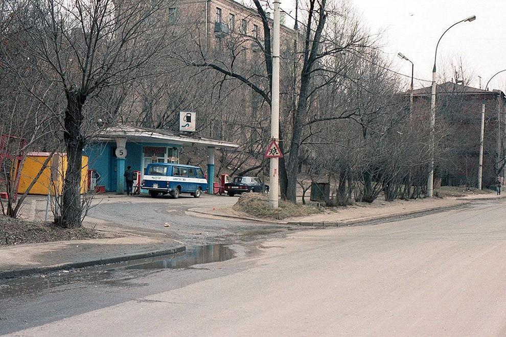 gasstation16 Бензоколонки в СССР   история в фотографиях