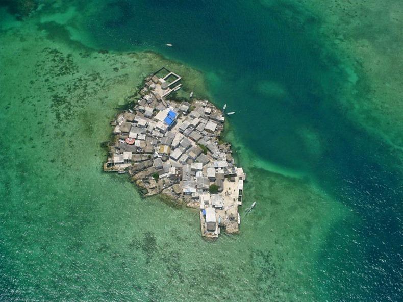islands01 10 самых густонаселённых островов мира