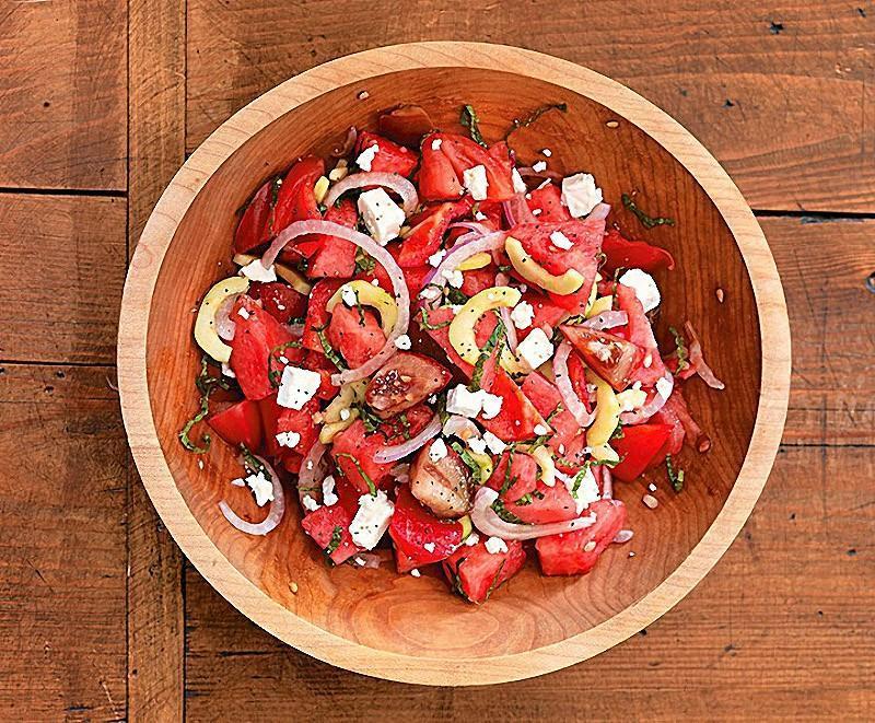 melon04 10 удивительных рецептов блюд из арбуза