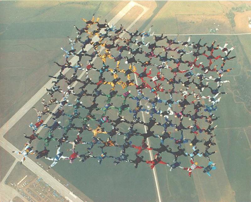 parachutes13 Самые впечатляющие фигуры парашютного спорта