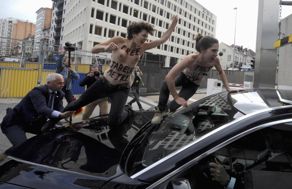 protests01 Главные протесты июня в фотографиях