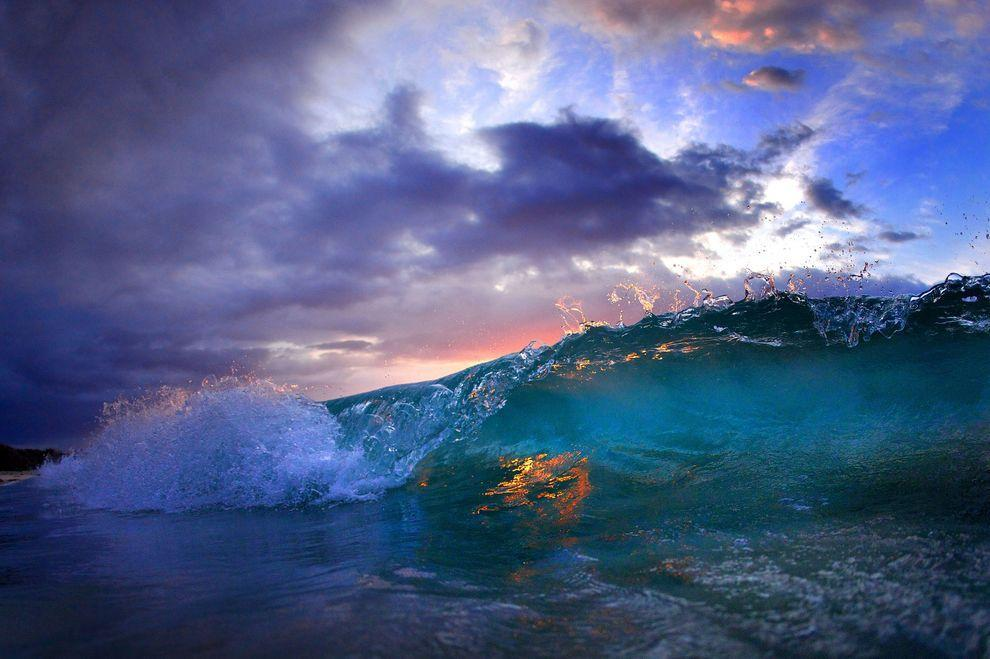waves02 Невероятные фотографии волн у берегов Гавайских островов