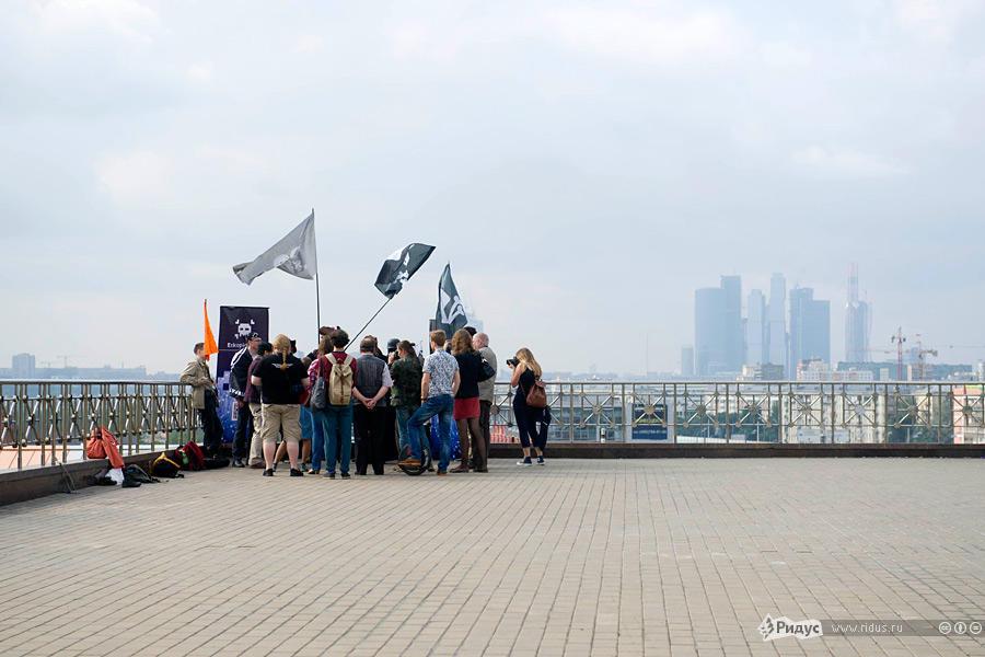 В Москве прошла свадьба последователей Макаронного монстра (1)