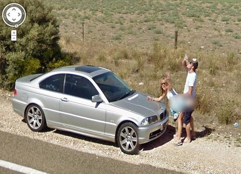 Снимков сервиса google street view