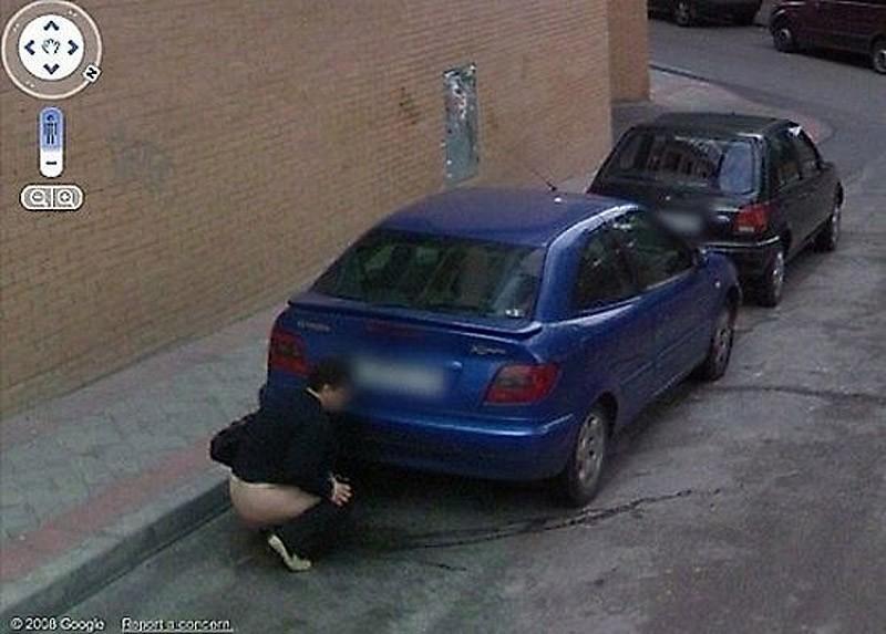 wtfgoogle14 25 самых неожиданных снимков сервиса Google Street View