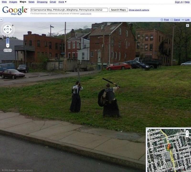 wtfgoogle16 25 самых неожиданных снимков сервиса Google Street View