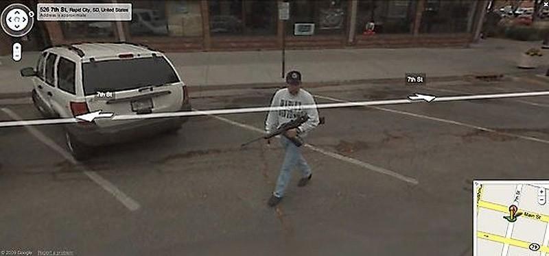 wtfgoogle19 25 самых неожиданных снимков сервиса Google Street View