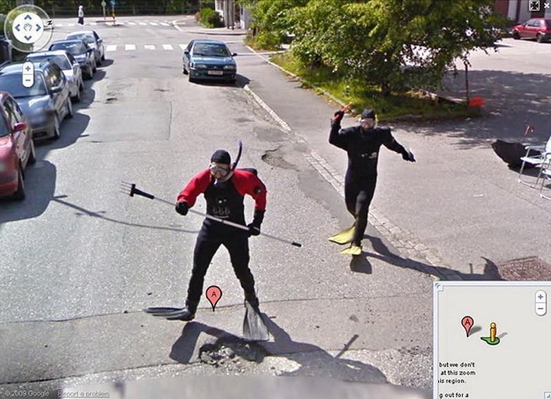 wtfgoogle20 25 самых неожиданных снимков сервиса Google Street View