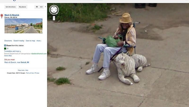wtfgoogle24 25 самых неожиданных снимков сервиса Google Street View