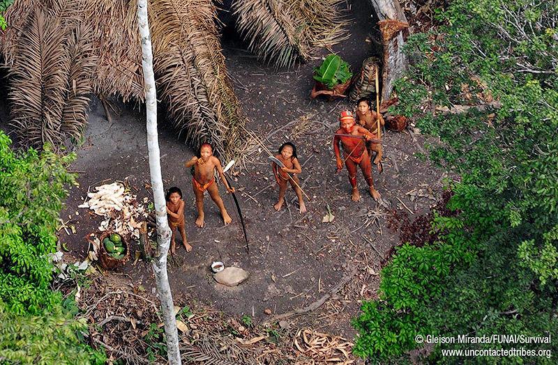 9. Последнее в мире племя индейцев, живущее в полной изоляции.
