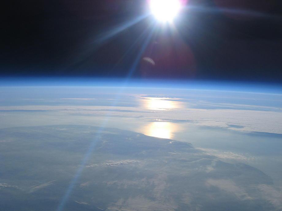 20km01 Удивительные снимки из стратосферы
