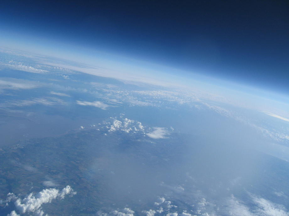 20km14 Удивительные снимки из стратосферы