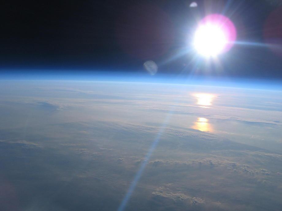20km15 Удивительные снимки из стратосферы