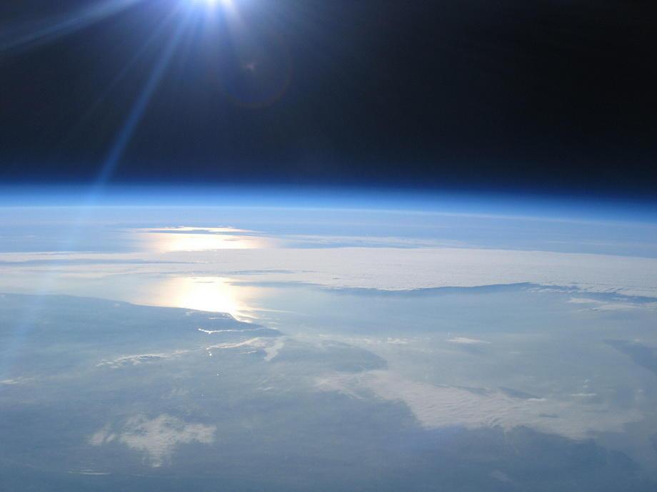20km16 Удивительные снимки из стратосферы