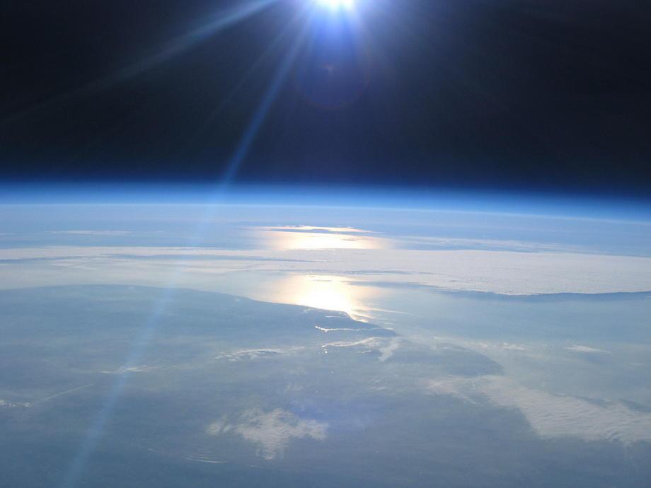 20km17 Удивительные снимки из стратосферы