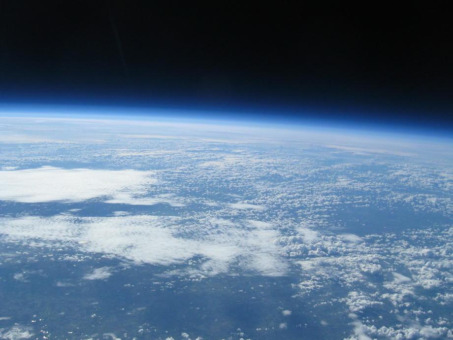 20km20 Удивительные снимки из стратосферы