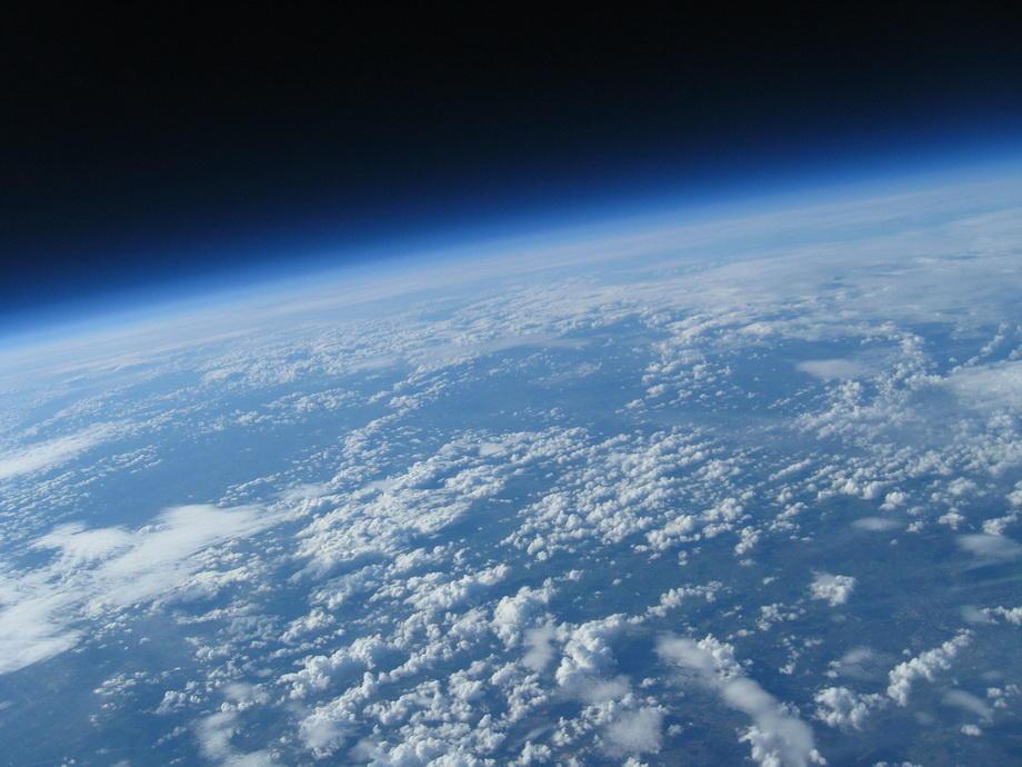 20km21 Удивительные снимки из стратосферы