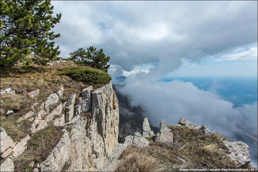 AyPetri17 Прогулка под облаками. Плато Ай Петри в Крыму