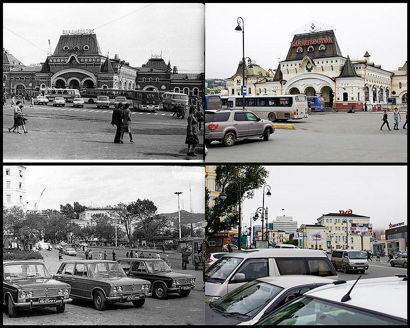 BIGPIC10 Взгляд на Владивосток в 1977 и в 2013 гг