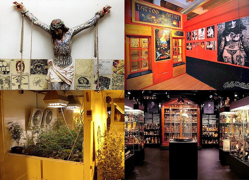 Экспонаты музея секса в амстердаме