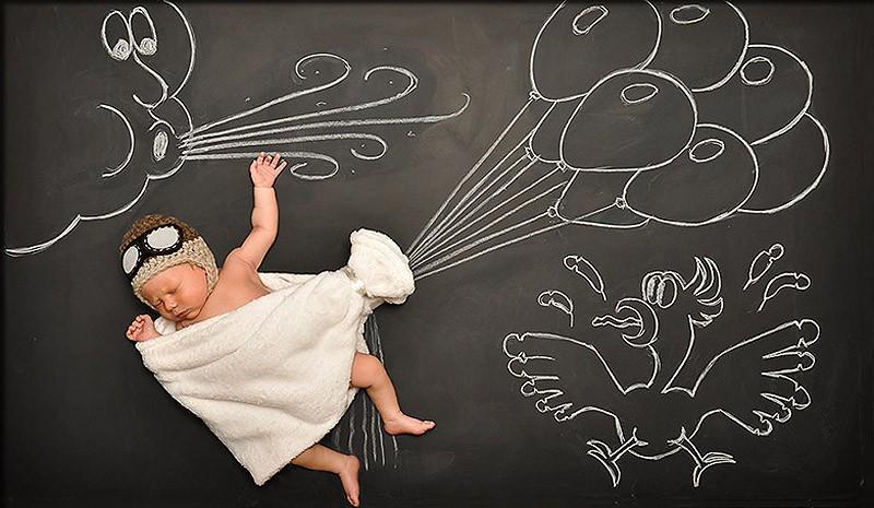Eftimie11 Мама фотографирует малыша на «Доске приключений»