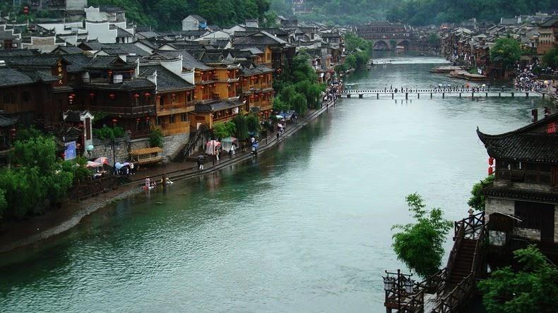Fenghuang05 Фэнхуан – один из самых красивых городков Китая