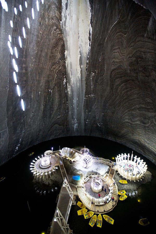 SalinaTurda13 Гигантская соляная шахта Салина Турда