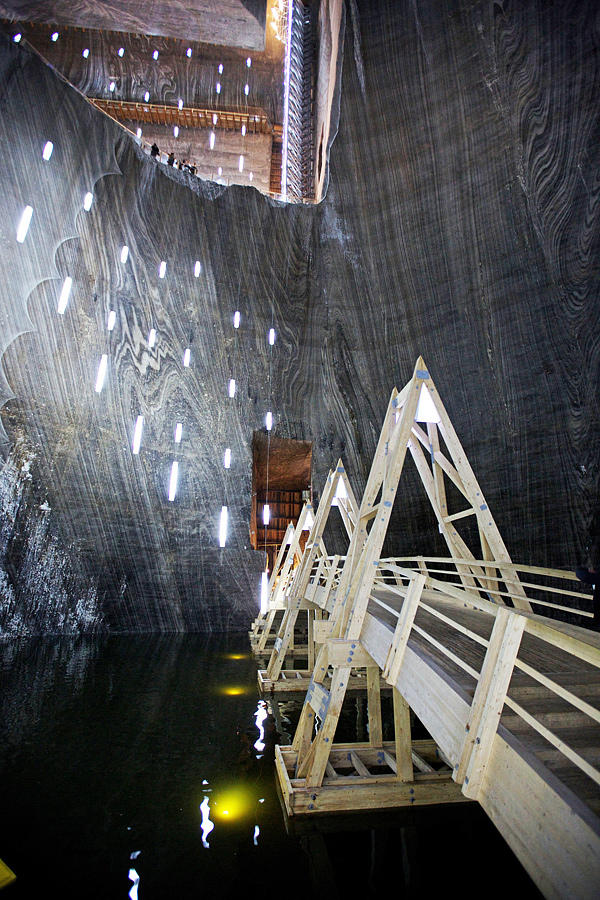 SalinaTurda16 Гигантская соляная шахта Салина Турда