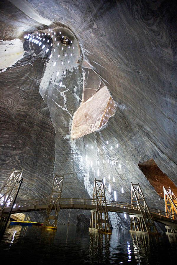 SalinaTurda19 Гигантская соляная шахта Салина Турда