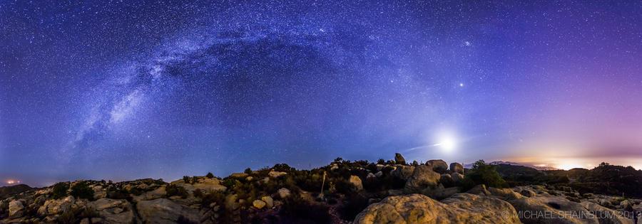 Shainblum01 Потрясающие звездные пейзажи