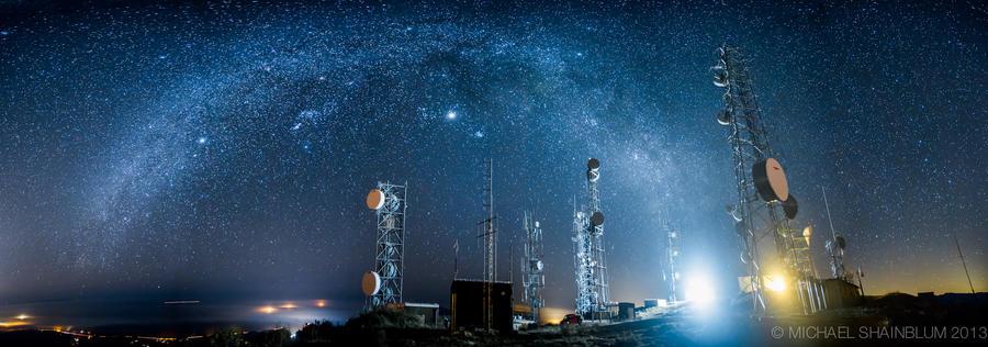 Shainblum02 Потрясающие звездные пейзажи