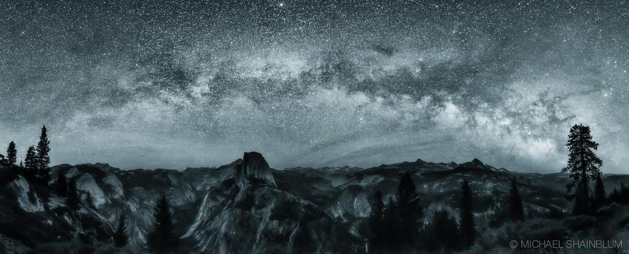 Shainblum03 Потрясающие звездные пейзажи