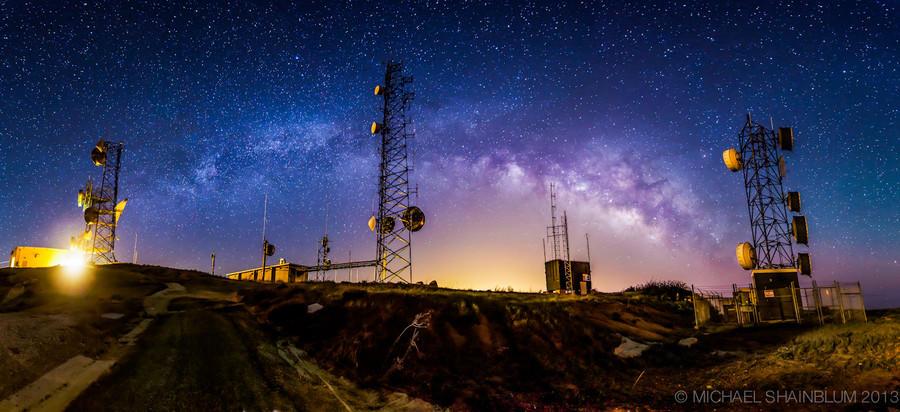 Shainblum05 Потрясающие звездные пейзажи