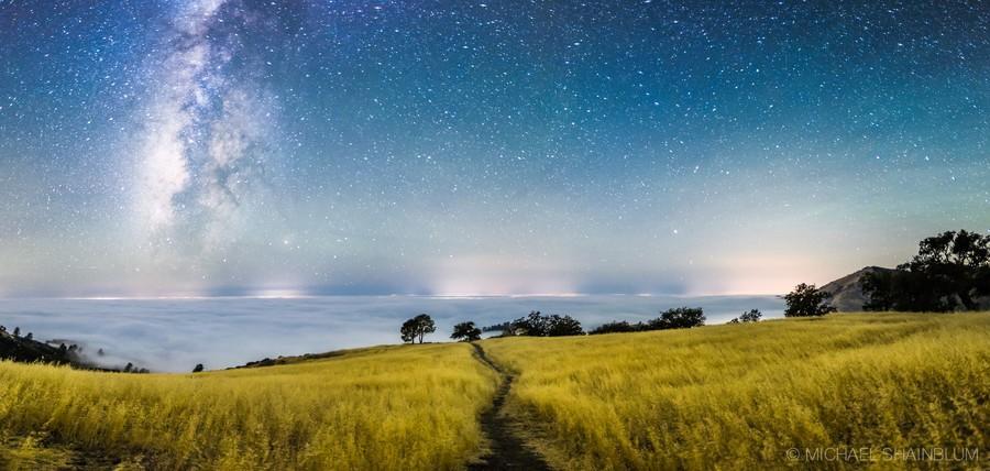 Shainblum06 Потрясающие звездные пейзажи