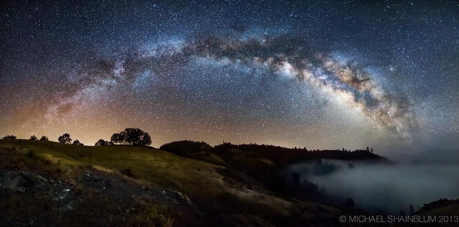 Shainblum07 Потрясающие звездные пейзажи