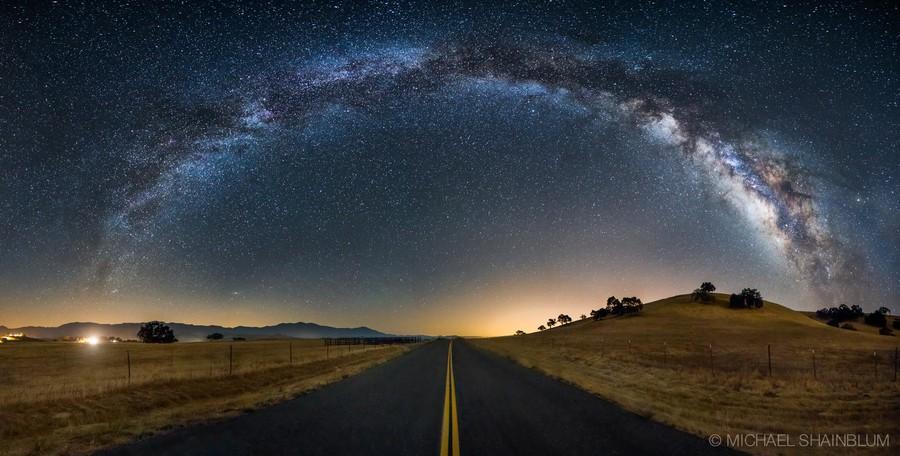 Shainblum08 Потрясающие звездные пейзажи