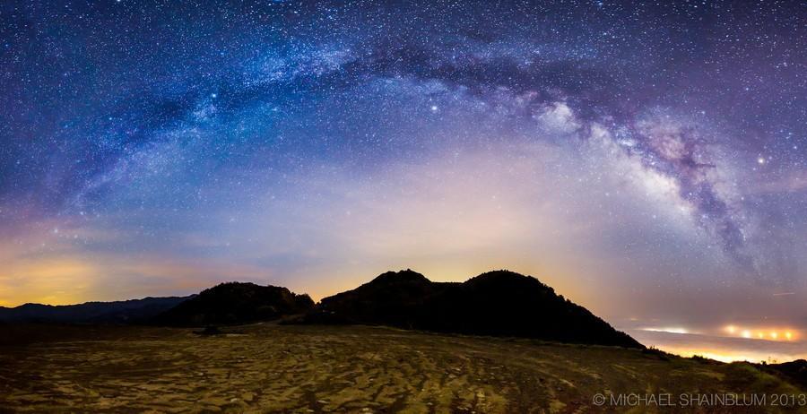 Shainblum09 Потрясающие звездные пейзажи