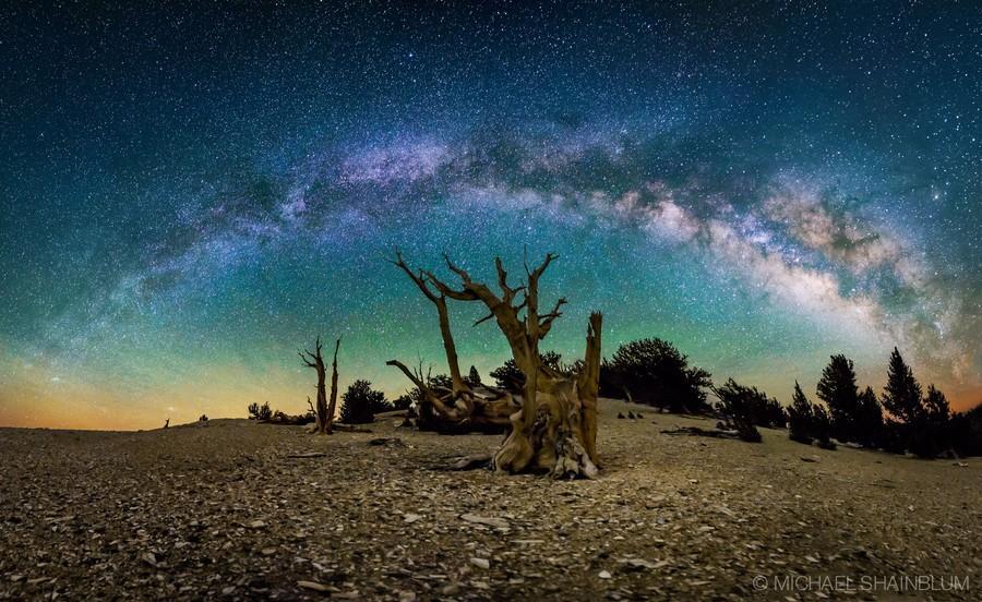 Shainblum10 Потрясающие звездные пейзажи