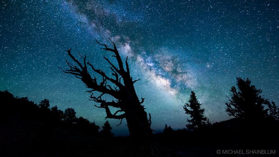 Shainblum11 Потрясающие звездные пейзажи