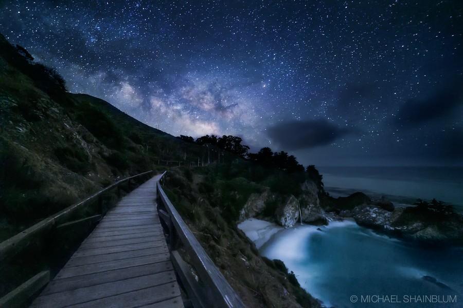 Shainblum14 Потрясающие звездные пейзажи
