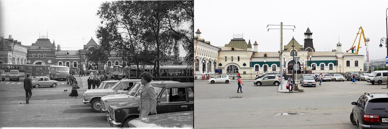 Vladivostok01 Взгляд на Владивосток в 1977 и в 2013 гг