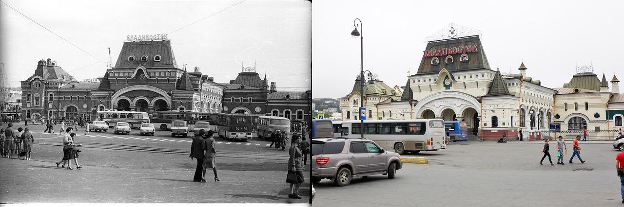 Vladivostok02 Взгляд на Владивосток в 1977 и в 2013 гг