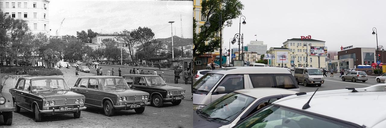 Vladivostok03 Взгляд на Владивосток в 1977 и в 2013 гг