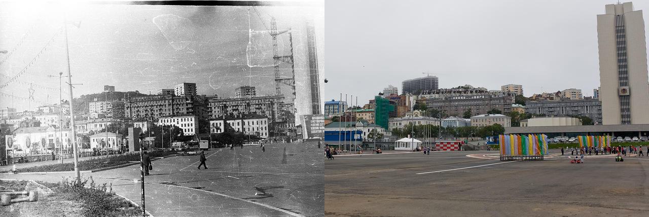 Vladivostok05 Взгляд на Владивосток в 1977 и в 2013 гг