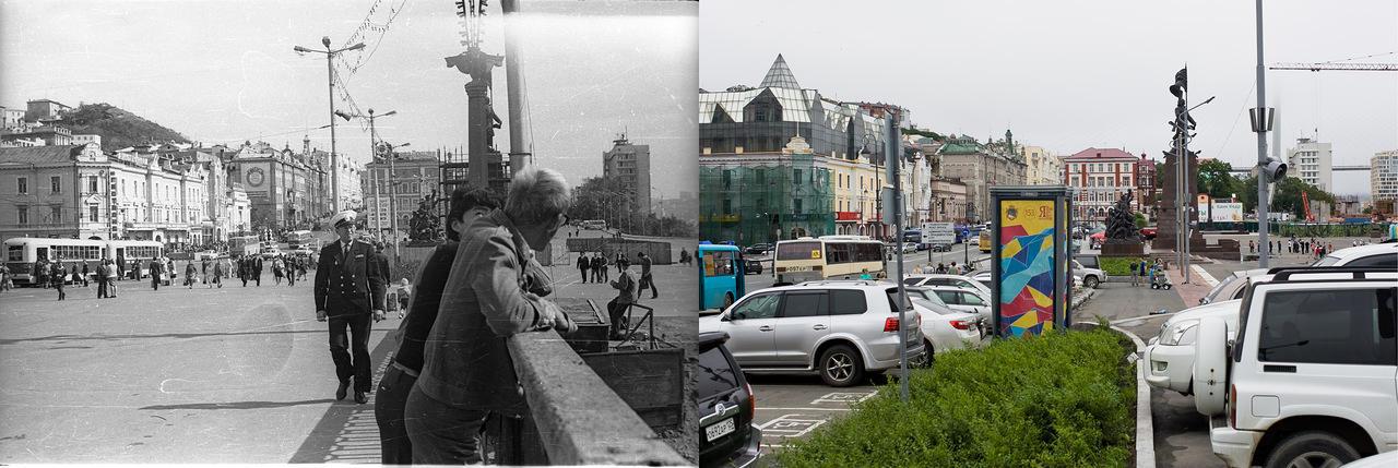 Vladivostok07 Взгляд на Владивосток в 1977 и в 2013 гг