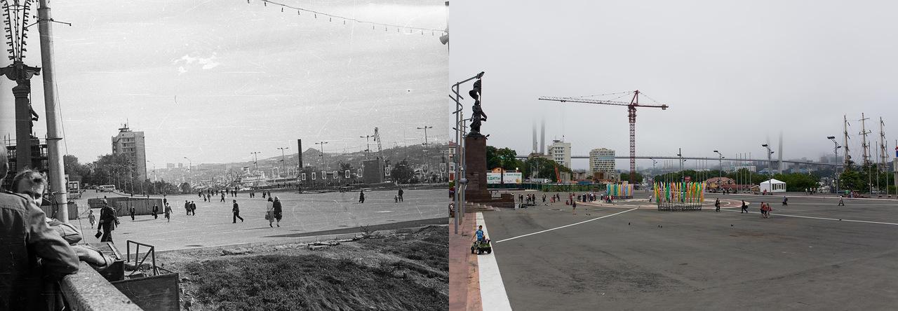 Vladivostok08 Взгляд на Владивосток в 1977 и в 2013 гг